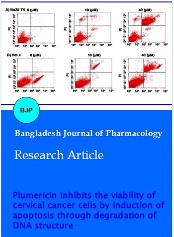 Vol 11 No 2 (2016) | Bangladesh Journal of Pharmacology