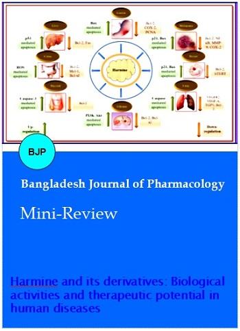 Vol 13 No 3 (2018)   Bangladesh Journal of Pharmacology