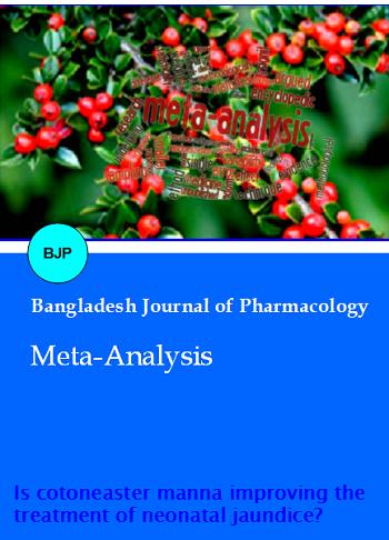 Vol 13 No 2 (2018)   Bangladesh Journal of Pharmacology