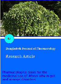Pharmacological basis for the medicinal use of Morus alba in