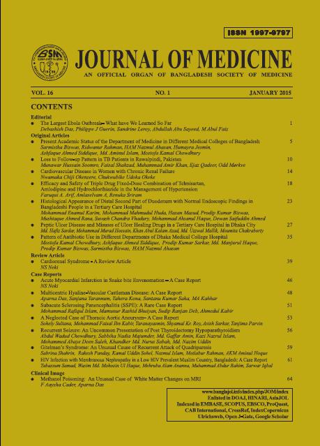 View Vol. 16 No. 1 (2015)