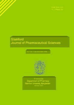 Cover of Stamford Journal of Pharmaceutical Sciences
