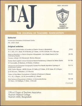 Cover of TAJ