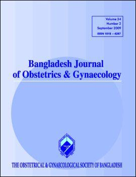 Cover of Bangladesh Journal of Obstetrics & Gynaecology