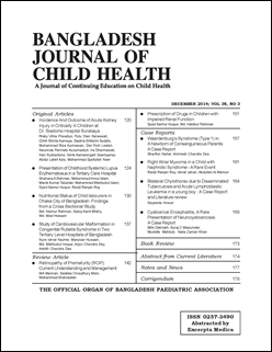 Cover of BJCH